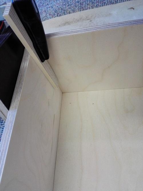 DIY Schublade verleimen