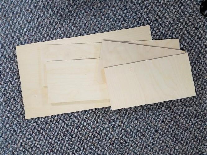 Material für die Schublade