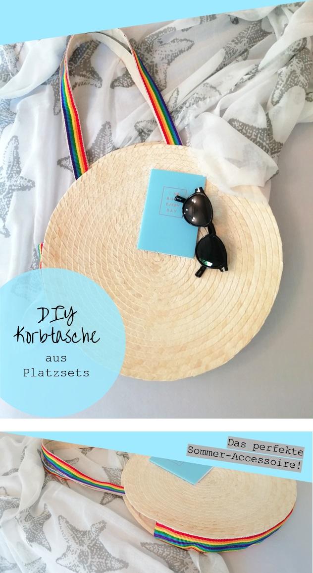 DIY Korbtasche aus Platzsets - The Frenzy Guide