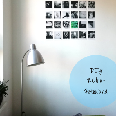 DIY Retro-Fotowand